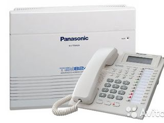 Установка, программирование, изменение программ, расширение мини-АТС Panasonic KX-T, KX-TEA, KX-TE