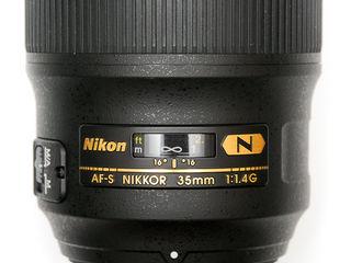 Nikon 35 f1.4G