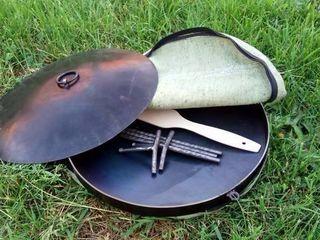 Сковорода из диска бороны / Disc de gatit