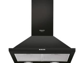 Кухонная вытяжка Hotpoint-Ariston 7HHPN 6F AM AN  Настенный/ Черный