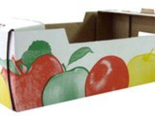 Картонный короб, яблочный ящик, картон, листы, картонная продукция, коробка, тара,  упаковка