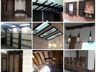 Массив-кабинеты, кровати, письменные столы, стеллажи, порталы, двери, лавки, кресла, винотеки, декор