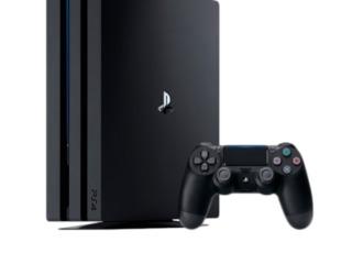 Sony Playstation 4 PRO  1 TB / Black
