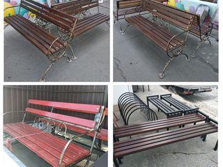 Столы, скамейки, лавки, вешалки, качели, стулья для установки на дачах, в парках и скверах.