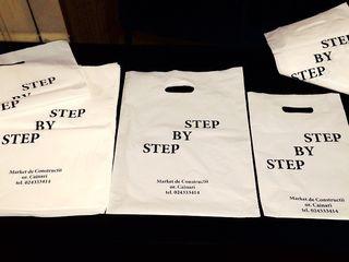 Фирменные пакеты с печатью от 2.82 лей/шт.