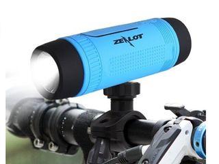 Фонарик Zealot S1 с функцией power bank и Bluetooth колонкой!