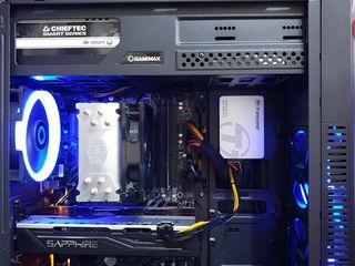 Gaming DDR4 Computer (i3-8350K / RX 580 8GB / SSD + HDD 1TB / 8GB RAM) Новый!