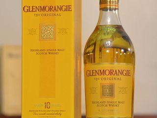 Гленморанж 10 лет, односолодовый в подарочной коробке!!!