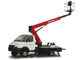 Автовышка чайка сервис Model: Чайка-Socage TR-318