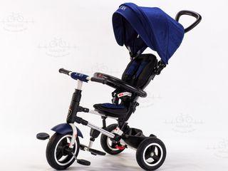 Tricicleta pentru copii de la 6 luni