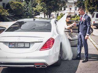 Chirie/прокат Mercedes S Class W222 AMG S65 Long alb/белый cu sofer/с водителем