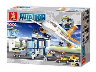 Sluban конструктор Аэропорт, 678 деталей / Constructor Aeroport, 678 piese