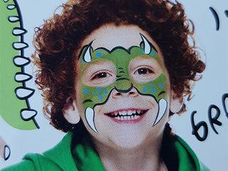 Face painting / desen pe față