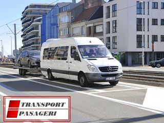 Transport pasageri zilnic spre Germania, Belgia, Olanda, Cehia