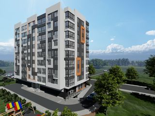 Bloc nou!!!vinzare apartament cu 2 odai 56,8mp. Orhei-centru!!!