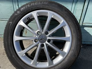 R17. 205/55 Michelin noi  2019  5/112 Mercedes   Originale