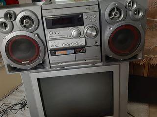 Televizor și centru muzical