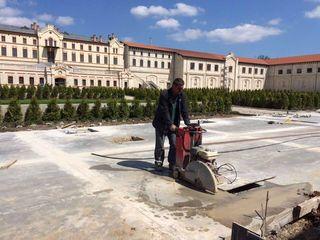 Taierea asfaltului,Betonului резка асфальта,бетона