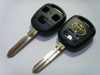 Ремонт ключей toyota lexus замена кнопок. открывание авто. изготовление ключей.
