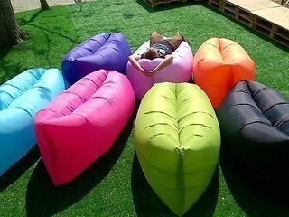 Надувной диван Lamzac! Для отдыха на природе, пляже, даче. Супер цена - 349 лей!