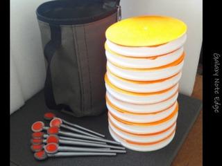 Набор Кружки рыболовные 10 шт (оснащённые) +СУМКА.Жерлица