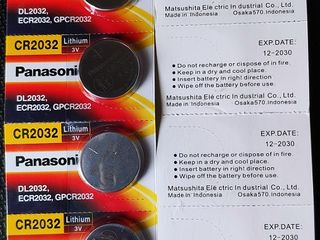 Батарейки CR2032 Panasonic, Sony. Аккумуляторы Eneloop, Fujitsu, Batmax NP-BX1 для камер Sony