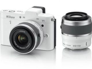 Nikon v1 white new