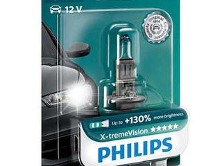 Lampi auto Philips X-TremeVision (+130%) - H1, H4, H7, D1S, D2S, D2R, D3S, D4S