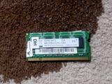 Оперативка для ноутбука DDR 2, 1 GB.