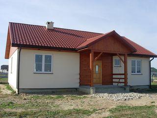 Новый дом-дача в белом варианте