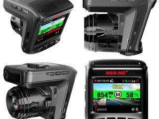 Sho-me combo 3 - радар-детектор с видеорегистратором gps. кредит!