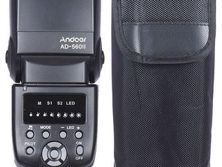 Andoer AD-560 II Вспышка Speedlite для Canon Nikon Olympus Pentax