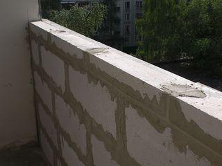 Балконы ! Почему выбирают нас?Каждый третий балкон в Кишиневе-наша работа!Кладка,расширение балконы!