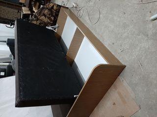 Кровать 2 х спальная 1м60см на 2метра с яшиком для белья
