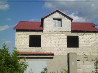Pret nou, casa in Ciorescu - 300 m de la traseul Criuleni