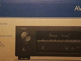Denon AVR-X2400H 7.2 Surround Av Receiver Dolby Atmos, DTS X Dolby Vision DLNA HEOS Nou!!! Новый!!