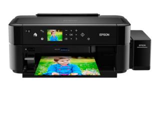 Принтер epson l810 струйный/ цветной/ черный
