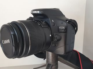 Canon EOS 550D + 18-55mm +75-300mm