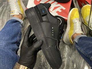 Nike Air Force 1 Type Black Unisex