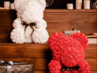 Мишка Teddy из 3D роз! Шикарный подарок! Букет из роз!