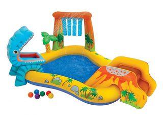Надувной детский бассейн 216л