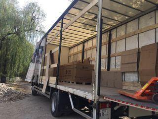 Transport 10 tone incarcari laterale si spate bort ghidraulic