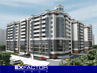 Exfactor Grup - Rișcani 3 camere 83 m2, et. 3 la cele mai bune condiții direct de la dezvoltator!