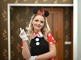 Minnie și Mickey mouse by Color Party