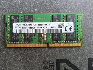 16GB DDR4-2666MHz SODIMM Hynix Original PC21300, CL19, 260pin DIMM 1.2V