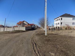 Lot destinat pentru constructie, toate comunicatiile, 24400€  Trușeni