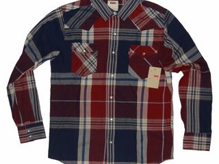 Продаются новые рубашки с бирками, не подошел размер . Levis. Wrangler . 500 лей