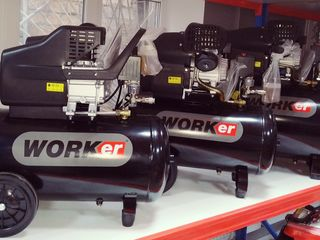 WORKer MV 50 L 3850 Lei- Compresor/ Компрессор  Motor cu doi cilindri V