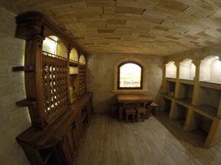 Винные погреба под ключ. Облицовка натуральным камнем Piatra naturala