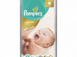 Pampers подгузники Premium Care 2, 3-6кг. 50 шт